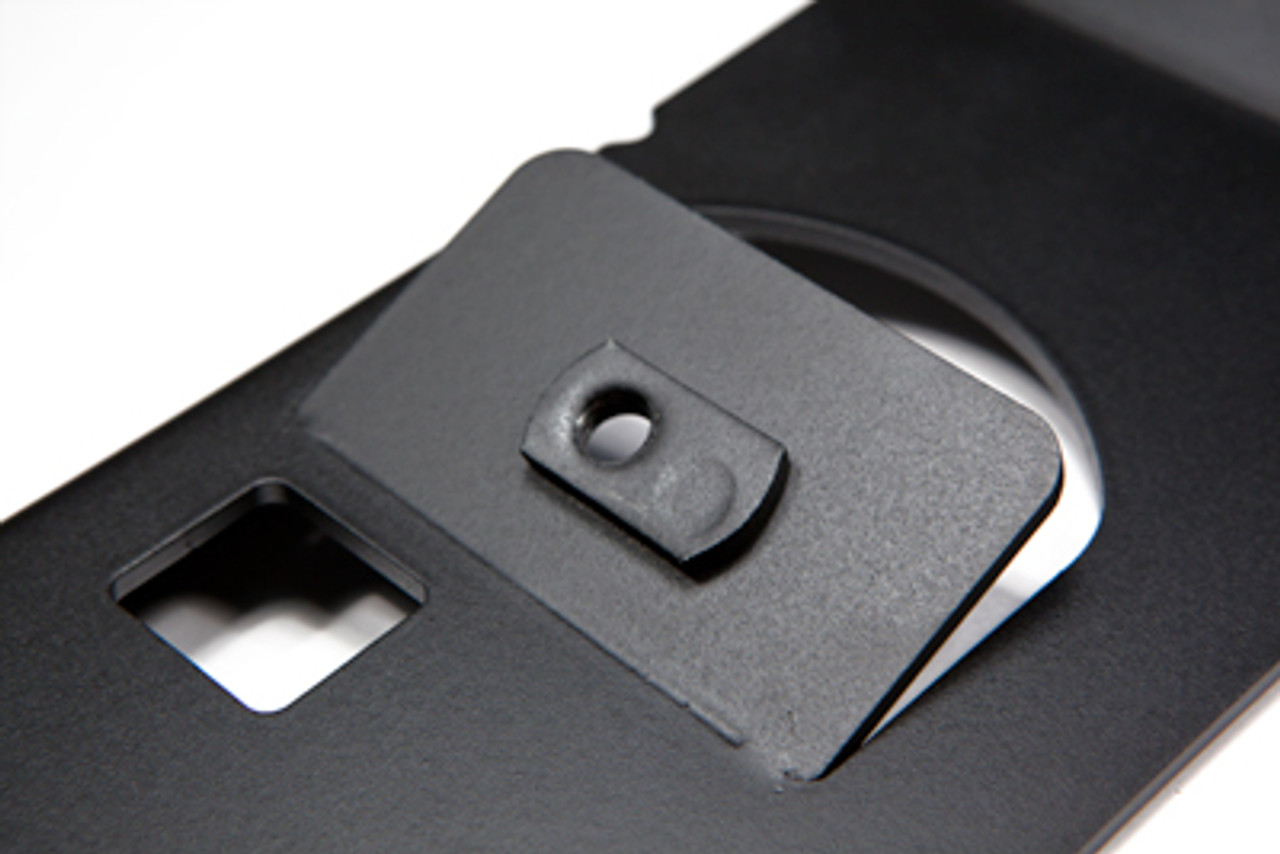HRV Legroom Brackets Close Up