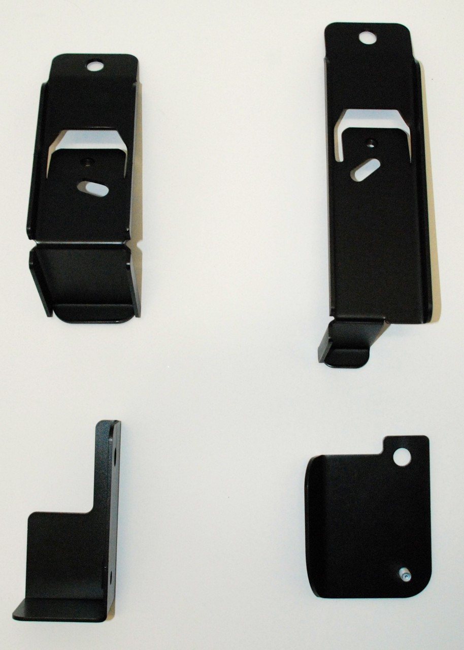 Toyota Yaris 4-piece brackets