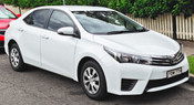 Toyota Corolla Legroom