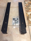 Customer brackets received with bolt package