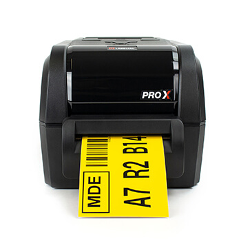 LabelTac Pro X - Barcode Rack Label