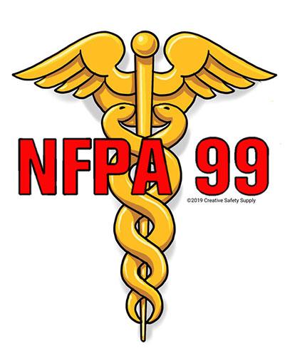 NFPA 99 Caduceus