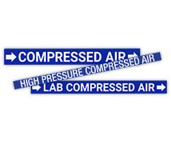 Compressed Air Stickers