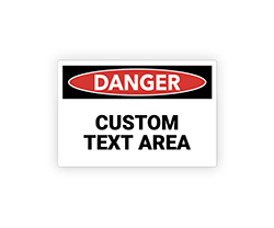 Custom Arc Flash Labels