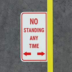 Floor Marking Signs