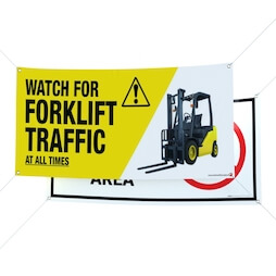 Forklift Banners