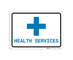 Healthcare Wall Signs