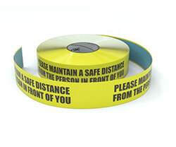 Medical Inline Printed Floor Tape