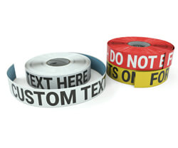 SafetyTac Inline Printed Tape