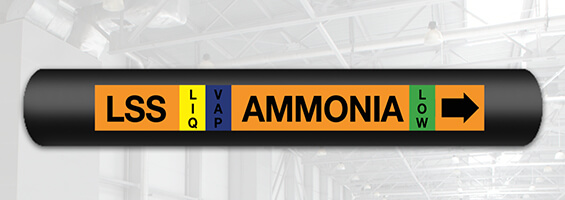 Ammonia Pipe Marking Quick Guide