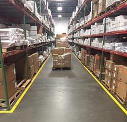Forklift Safety Label Warehouse