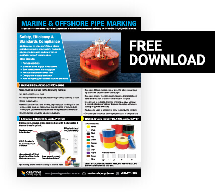 Free Marine and OFF Shore Pipe Marking Quick Guide