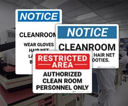 Cleanroom Labeling