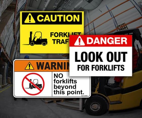 Forklift Safety Labeling