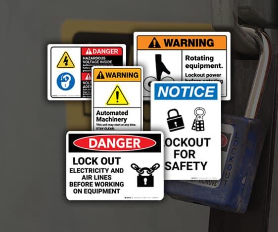 Lockout Tagout Labeling