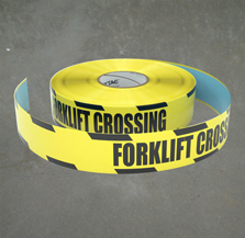Forklift Safety Inline Tape