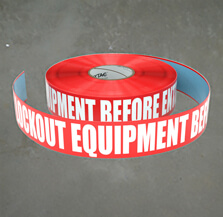 Lockout Inline Tape