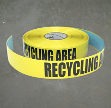 Trash and Recycling Inline Tape