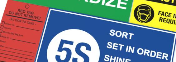 Free 5S Label Samples