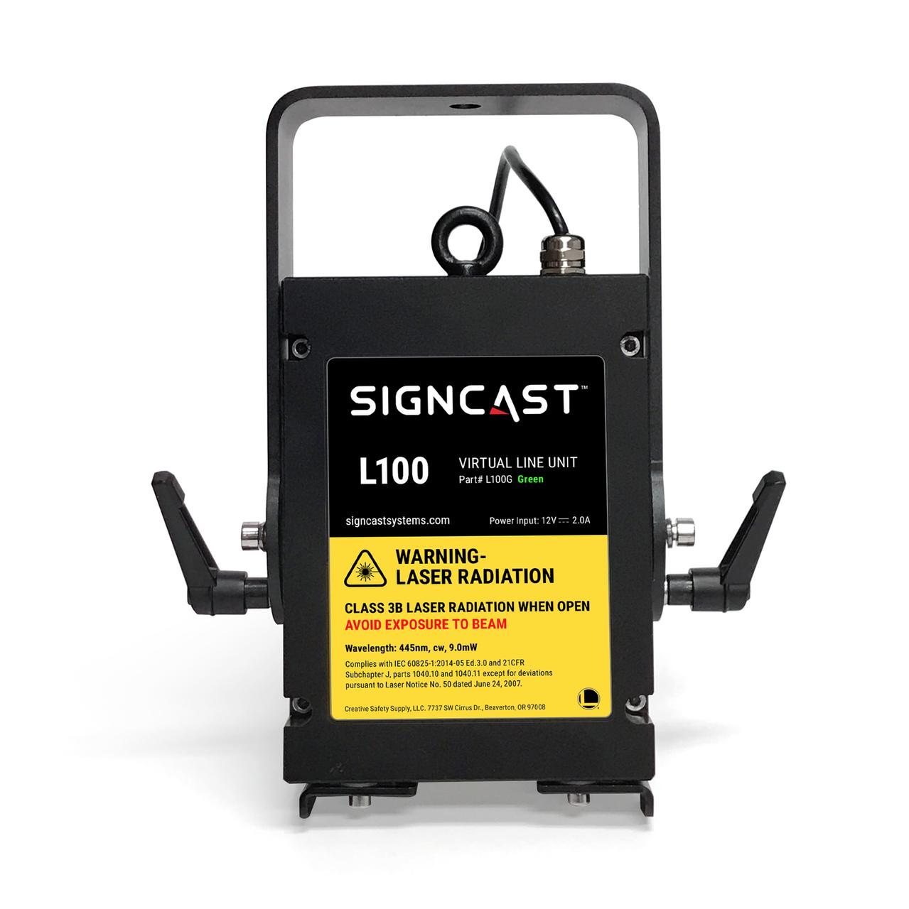 signcast l100 virtual line unit rh creativesafetysupply com
