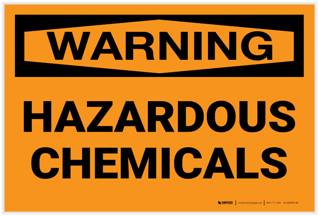 TOXIC CHEMICAL 2 x Sign Self Adhesive Removable Vinyl Sticker WARNING