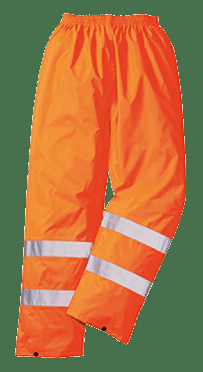 H444 Portwest Hi-Vis Classic Waterproof Contrast Trouser
