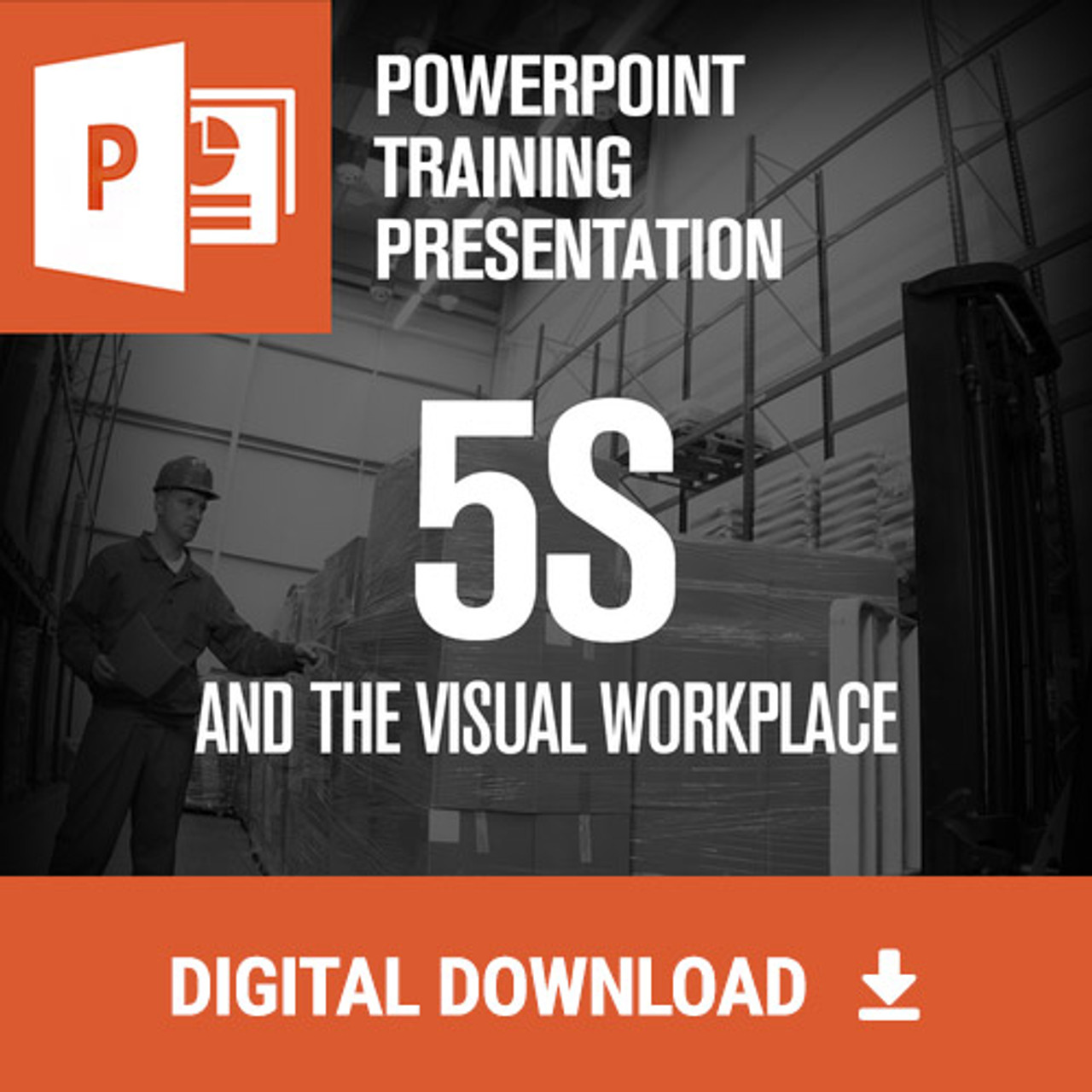 5S Powerpoint Training for introduction to lean and 6S w