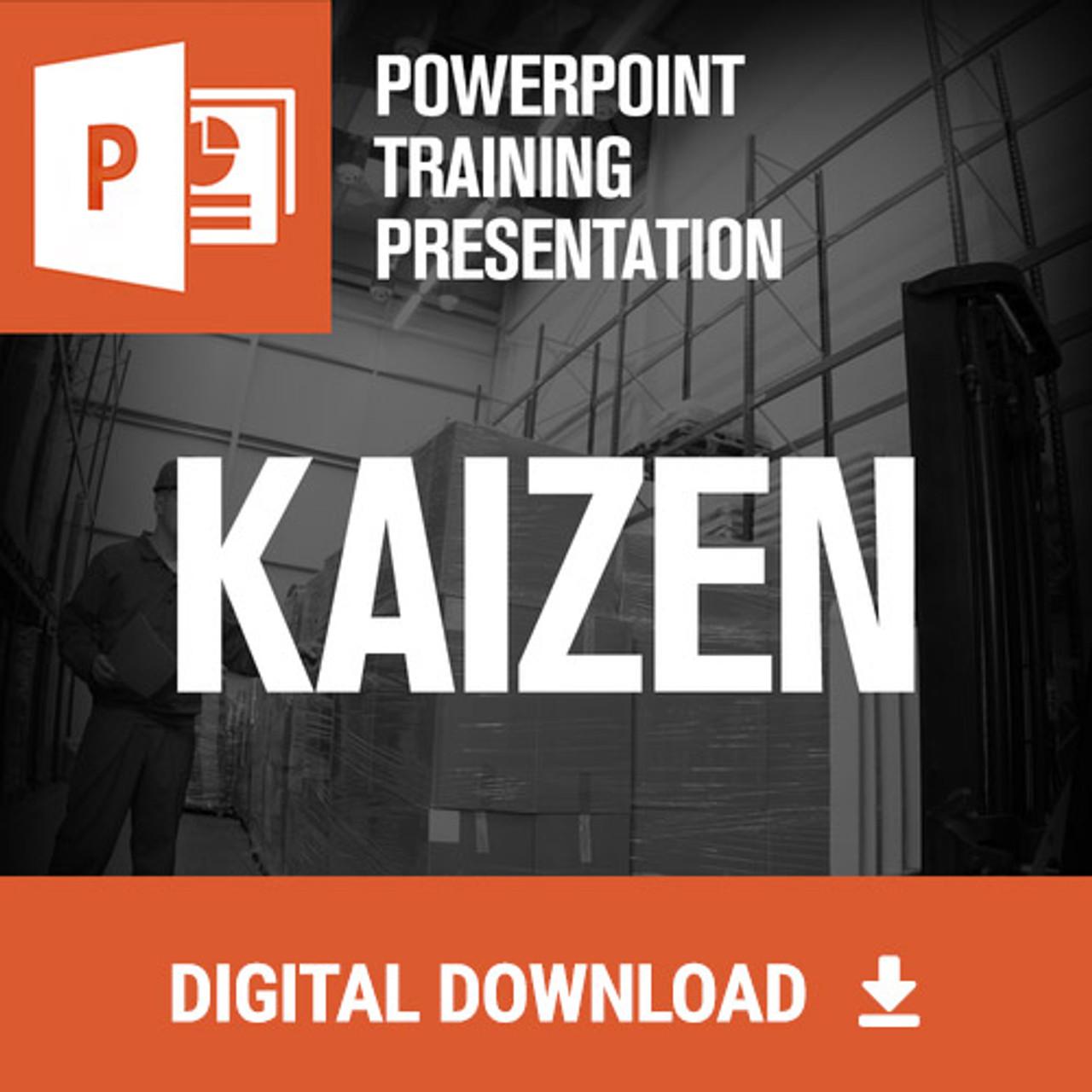 Kaizen Powerpoint Training - Digital Download