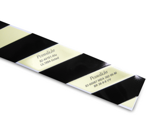 Glow: Emergency Egress Aluminum Hazard Marking Tape