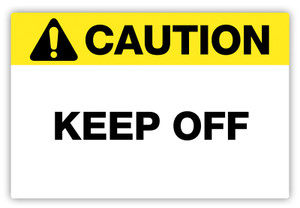 Caution - Keep Off Label