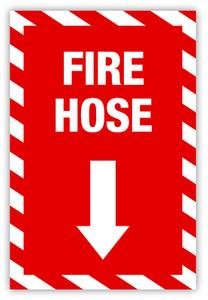 Fire Hose Label