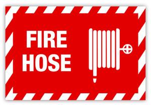 Fire Hose (Horizontal) Label