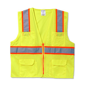Classic Solid Two-Tone Surveyor Vest
