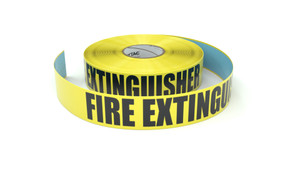 Fire Extinguisher - Inline Printed Floor Marking Tape