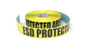 ESD Protected Area - Inline Printed Floor Marking Tape