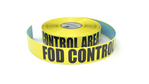 FOD Control Area  - Inline Printed Floor Marking Tape