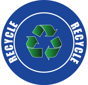 Recycle Sign v2 - Floor Sign