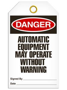 Danger Auto Equip Tags