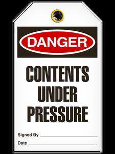 Danger Under Pressure Tags