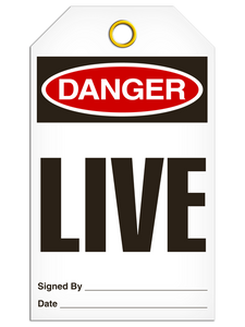 Danger Live Tags