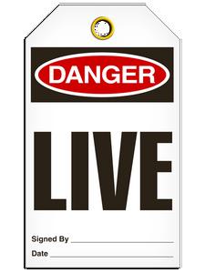 Danger Live Tags
