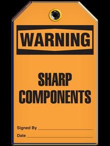Warning Sharp Comp Tags