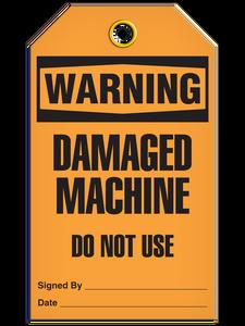 Warning Damage Mach Tags