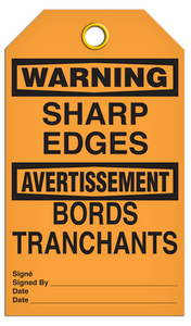 Warning English/French Sharp Tags