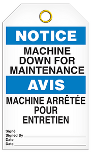 Notice English/French Machine Tags