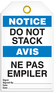 Notice English/French Stack Tags