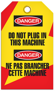 Lockout English/French Machine Tags