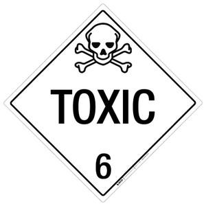 Toxic: Class 6 - Placard Sign