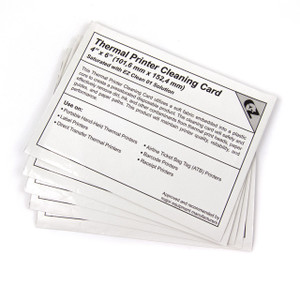 Thermal Printer Cleaning Card