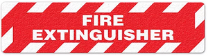 "Fire Extinguisher (6""x24"") Anti-Slip Floor Tape"